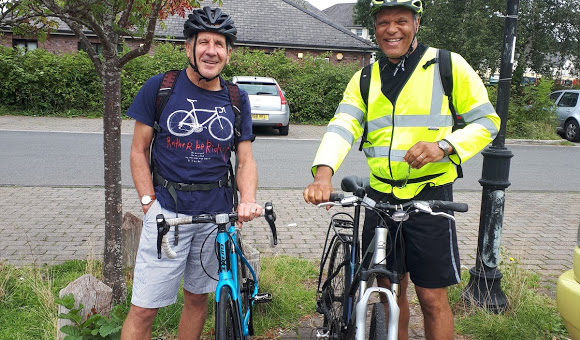Brecon to Cardiff charity bike ride